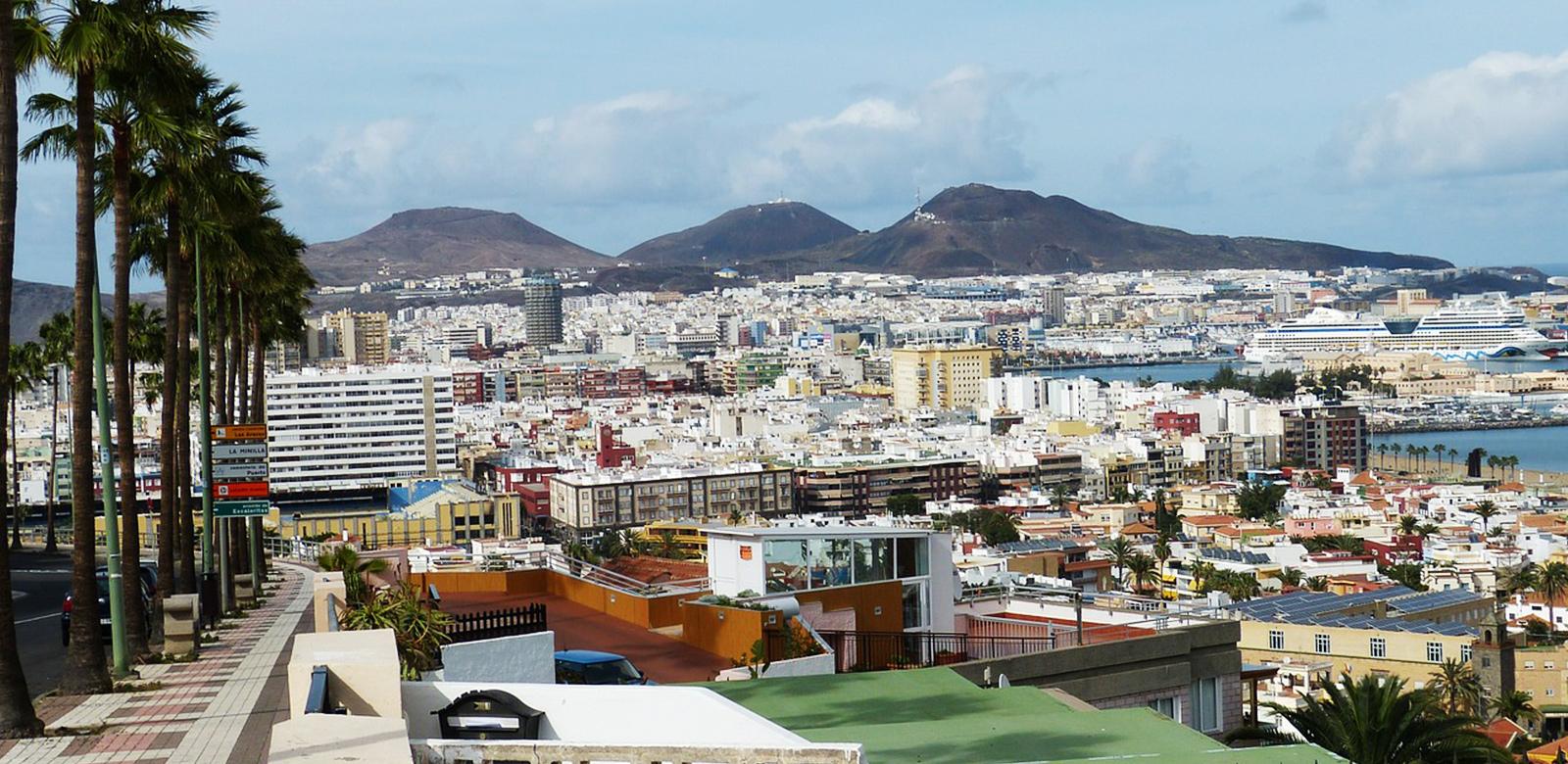 Landvetter Parkering • Las Palmas de Gran Canaria är den största staden på Gran Canaria och på Kanarieöarna i allmänhet